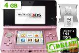 Nintendo 3Ds Roza + R4I Sdhc V2 + Microsd 4Gb + Sd 2Gb