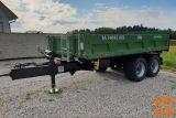 Tandem traktorska prikolica, Brantner TA 14045 XXL