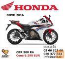 Honda CBR 500 RA ABS (model 2016)