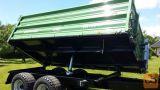 Tandem tovorna prikolica, Brantner TA 10041 - 10t