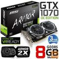 nVidia GF GTX1070 8GB GDDR5 MSI Armor OC  MSI DVI-D HDMI