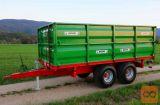 BICCHI 13 ton - tandem traktorska prikolica