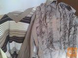 majice,bluze,hlače redno vzdrževane