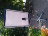 NOBO magnetna tabla PIRANHA MOBILE na stojalu 100 x 70 cm