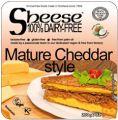 Topljivi veganski sir zreli cheddar, 200 g