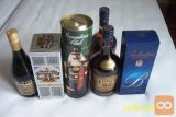 Žgana pijača: whisky, CC, Brandy, Ballantines