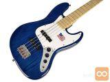 SX SJB75 TBU Bas kitara bas kitare AMERICAN ASH