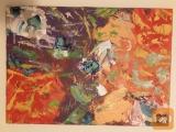 Prodam sliko abstrakt 50-70cm