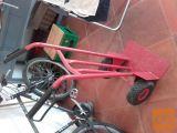 rudel -voziček za prevoz bremen