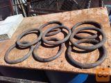 železni obroči s polnega materiala