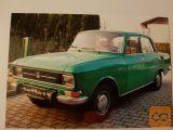 Prodam / brezplačen najem : avto starodobnik Moskvič l. 1977