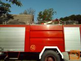 Nadgradnja za gasilsko vozilo