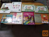 ZELO ZANIMIVE razne otroške in mladinske knjige