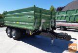 Traktorska prikolica, tandem, Brantner TA 14045 2XXL