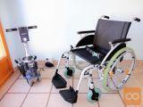 Invalidski voziček Sunrise, z električnim pogonom Quix