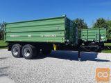 Traktorska prikolica, tandem, Brantner TA 14045 XXL