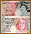 1994 Bank of England 50 funtov bankovec -  Sir John Houblon