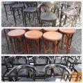 barski visoki stoli-barske drvene stolice